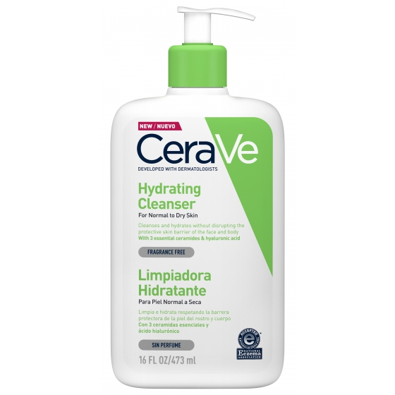 Cerave Cleanser Hyd Limp Rost/Corpo 473ml