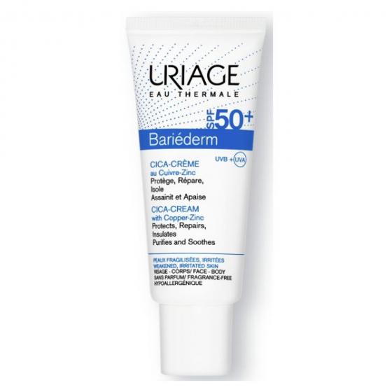 Uriage Bariederm  Cica Cr Spf50+ 40ml