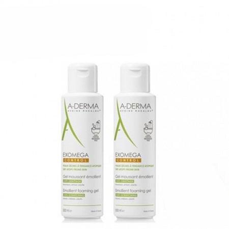 A-Derma Duo Gel Lavante 2 x 500 ml com Desconto de 65% na 2ª Embalagem