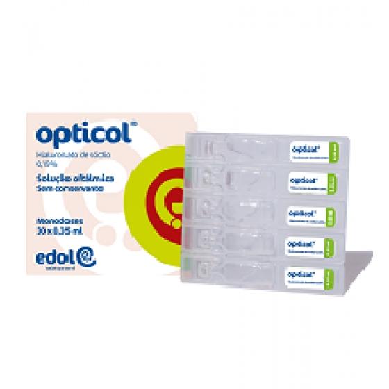 Opticol Sol Oft 0,15% 0,35ml X30