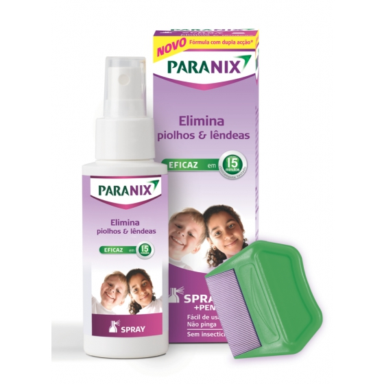Paranix  Spray C/Pente Piolh 100ml