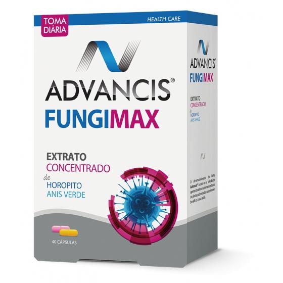 Advancis Fungimax Pack Cápsulas Amarelas 20 Unidade(s) + Cápsulas Rosa 20 Unidade(s)