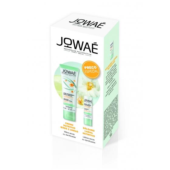 Jowaé Creme mãos/unhas nutritivo 50 ml + Bálsamo lábios nutritivo stick 4 g com Preço especial