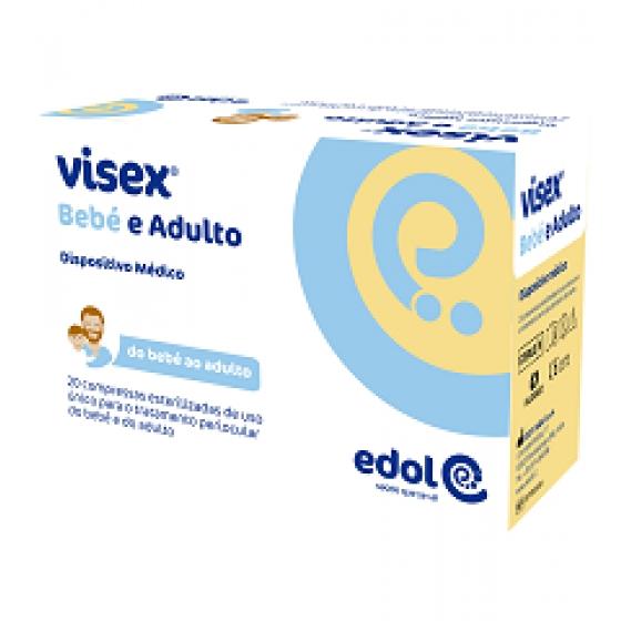 Visex Bebe E Adul Cpssa Esteril Perioculx20