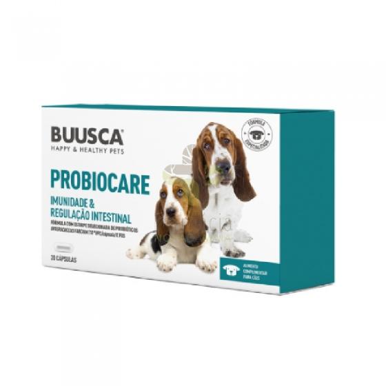 Buusca Probiocare Caps X20 Cao