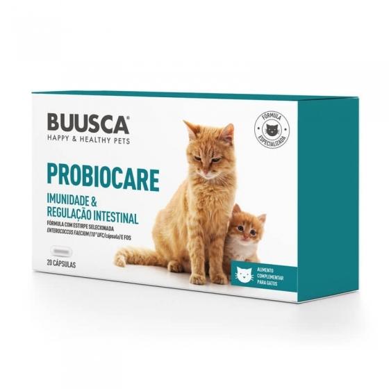Buusca Probiocare Caps X20 Gato