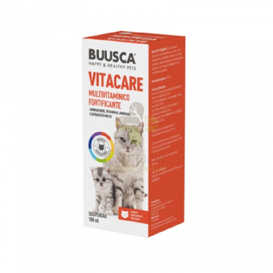 Buusca Vitacare Susp 100Ml Gato