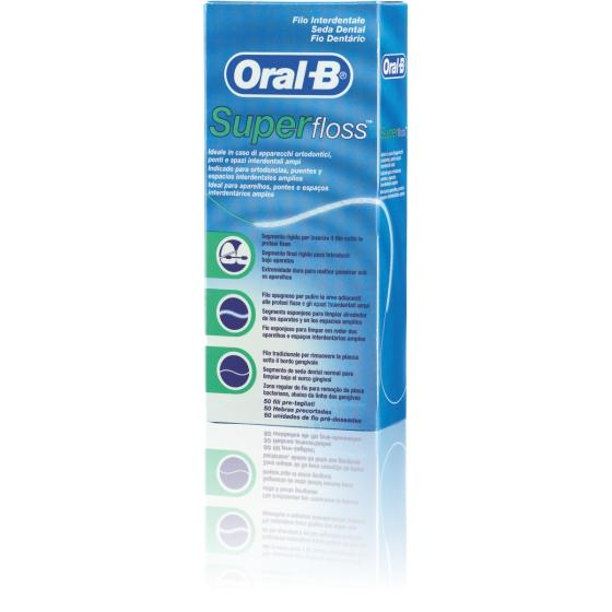 Oral B Super Floss X 50
