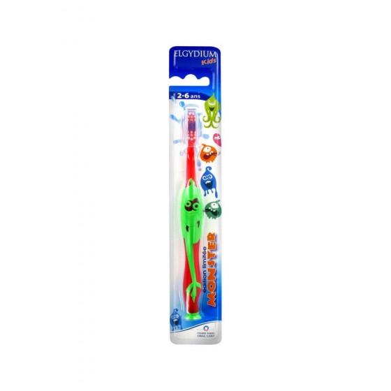 Elgydium Infantil Esc Dent Kids Monster2-6a
