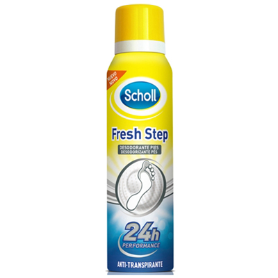 Scholl Fresh Step Deo Pes Anti-Transp 150ml