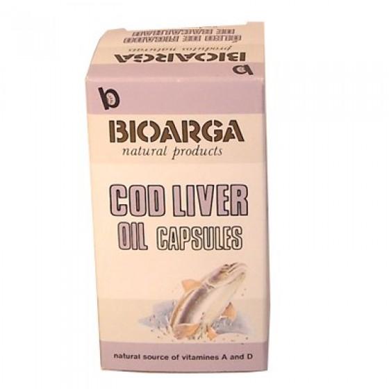Bioarga Caps Oleo Figado Bacax100