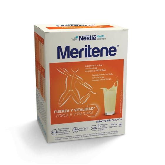 Meritene Baunilha Cart Po X 15