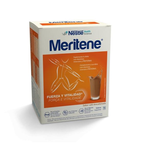 Meritene Cafe Des Cart Po X 15