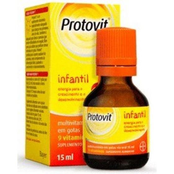 Protovit Infantil Gts Multivitamin 15 Ml
