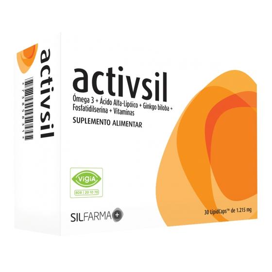 Activsil Lipid Caps X 30