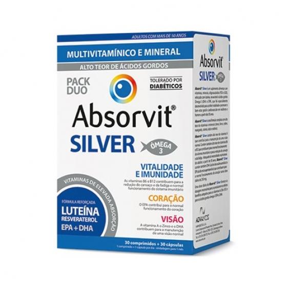 Absorvit Silver Comp X 30 + Caps X 30