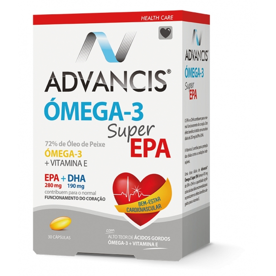 Advancis Omega-3 Super Epa Capsx30 cáps(s)