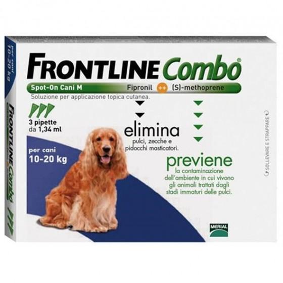 Frontline Combo Sol Cao 10-20kg 1,34mlx3